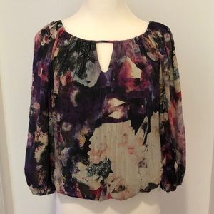 Alice + Olivia Beautiful Silk Blouse
